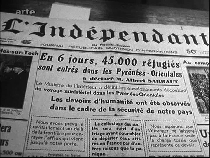 26 janvier 1939: la Retirada (la Retraite). J'ai toujours l'Espagne républicaine au coeur