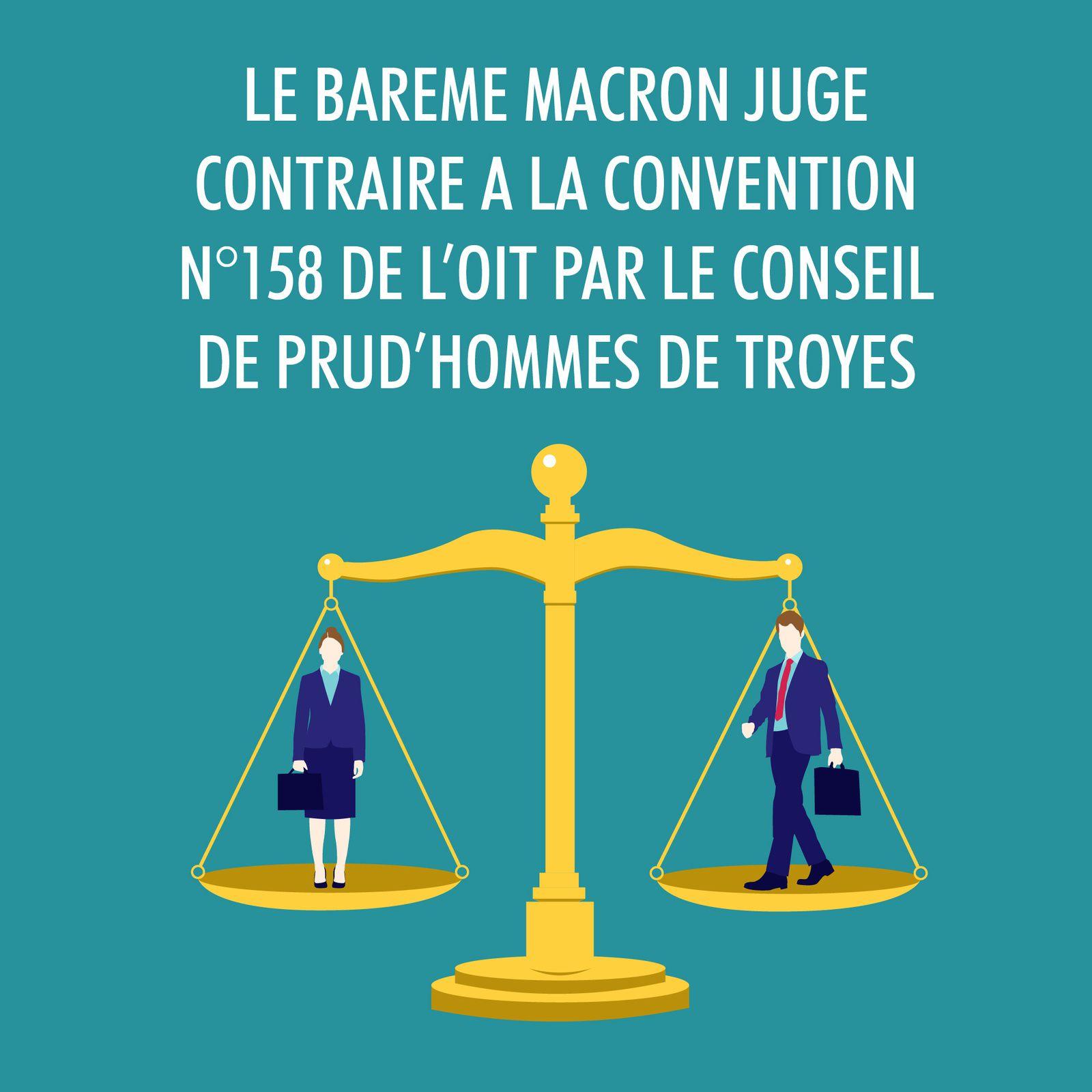 Le ministère de la Justice au secours du barême Macron sur les indemnités de licenciement