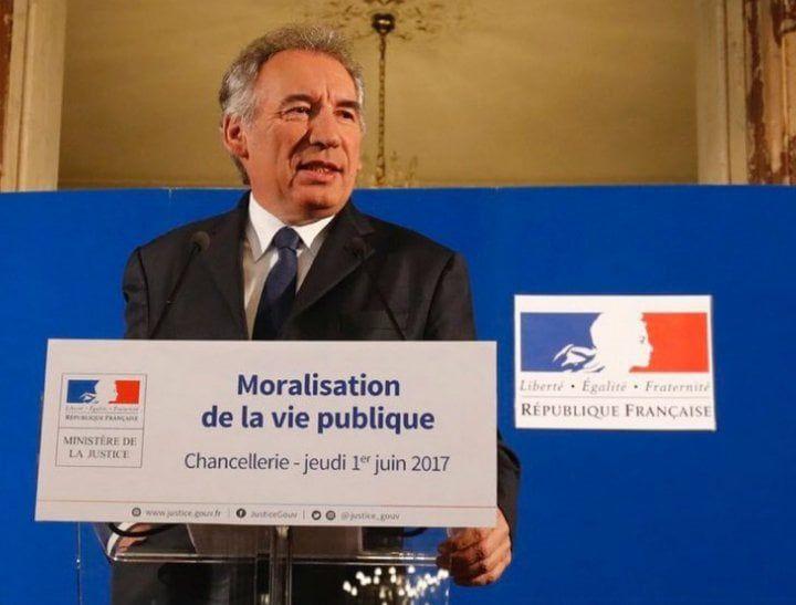 François Bayrou, patron du Modem et ex-ministre macronien de la Justice mis en examen