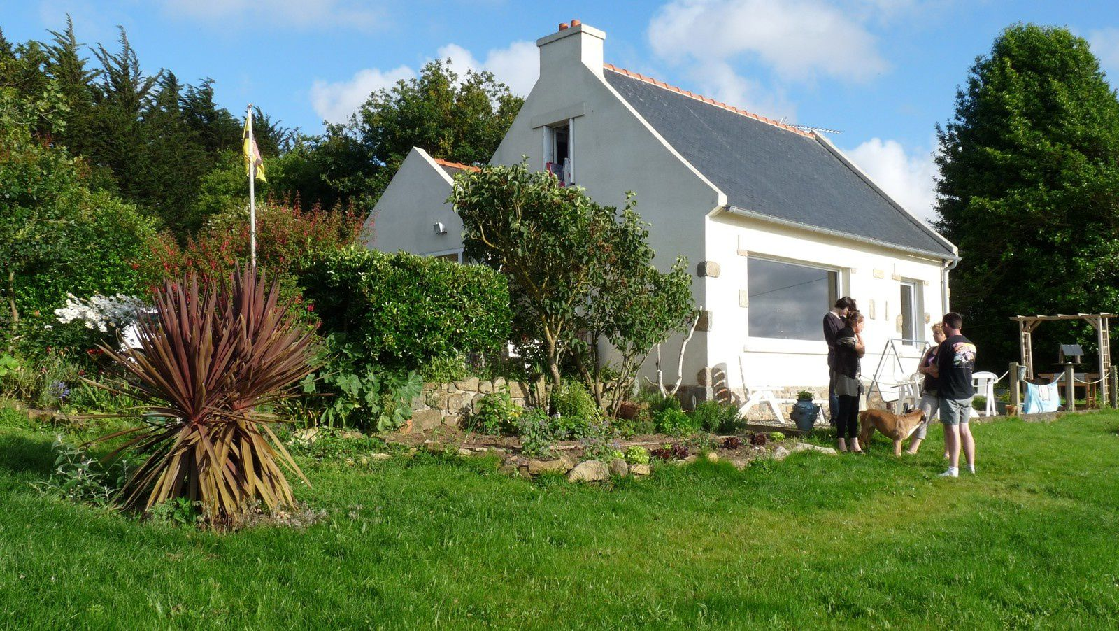 Perfect When We Bought This House, We Were Told By The Estate Agent That It Was  Like A Semaphore Or Lighthouse, With Wide Views Over The Estuary Of The  Jaudy And ...