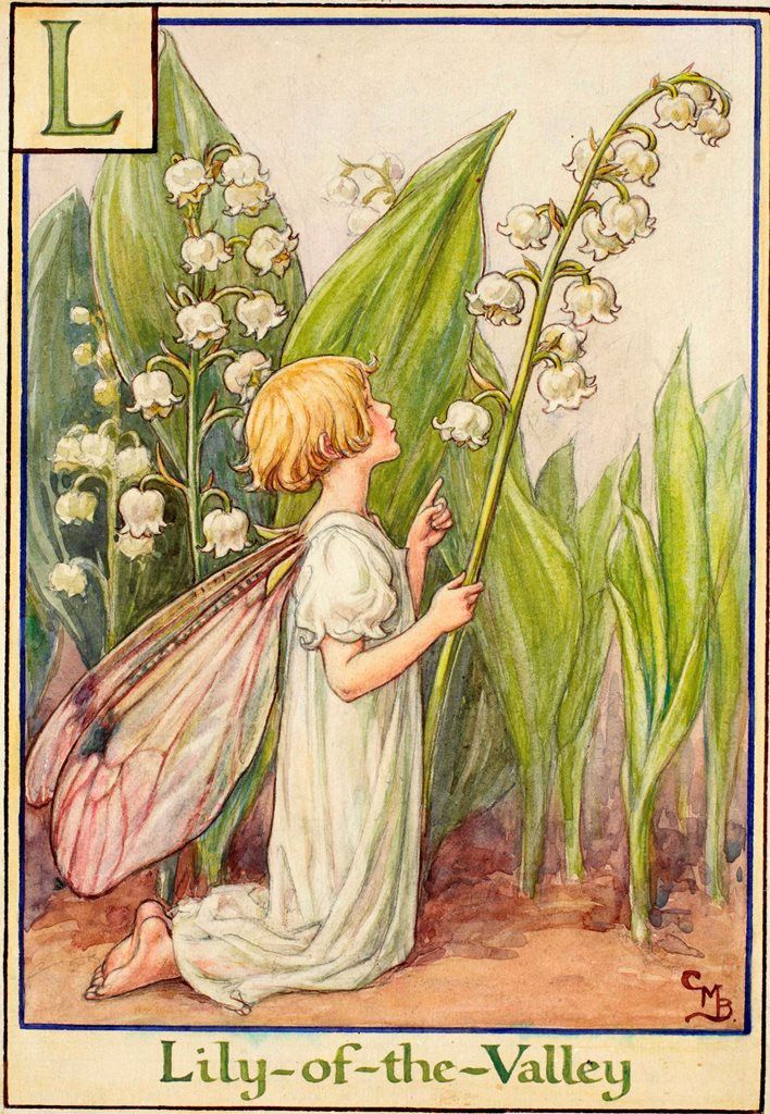 LILY6OF6THE6VALLEY FAIRY