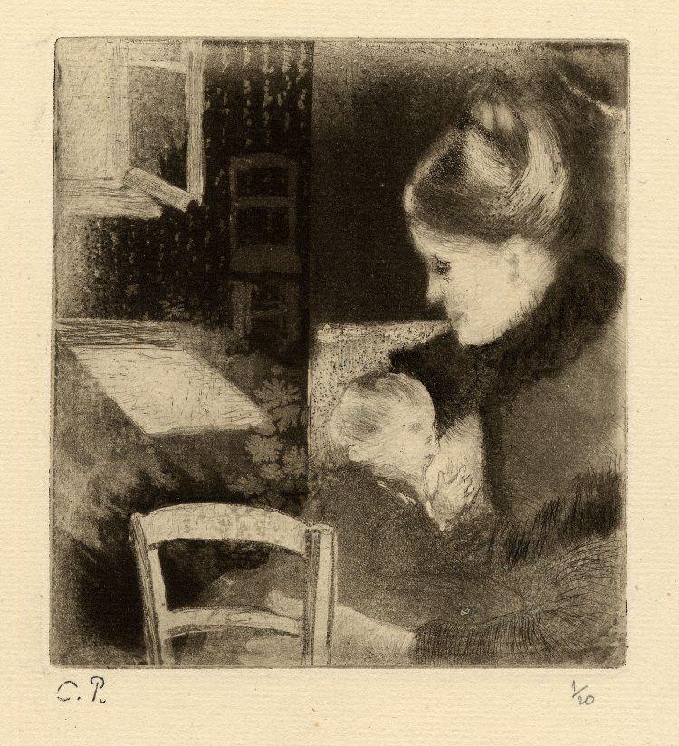 Par Camille Pissarro — British Museum [1], Domaine public, https://commons.wikimedia.org/w/index.php?curid=14958684