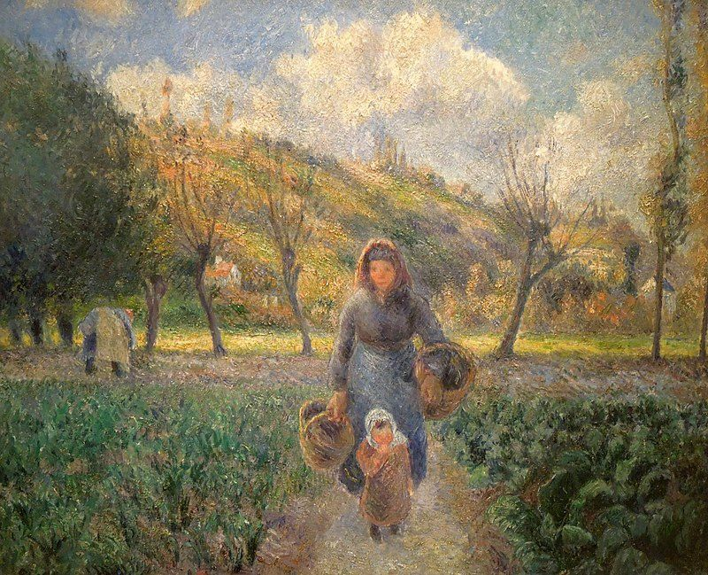 Par Camille Pissarro — https://www.flickr.com/photos/mbell1975/6342103122/, Domaine public, https://commons.wikimedia.org/w/index.php?curid=18585659