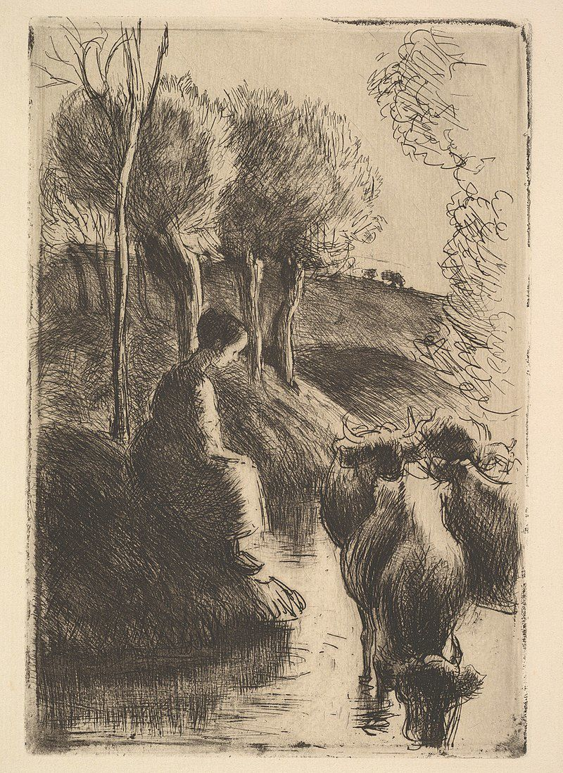 Par Camille Pissarro — This file was donated to Wikimedia Commons as part of a project by the Metropolitan Museum of Art. See the Image and Data Resources Open Access Policy, CC0, https://commons.wikimedia.org/w/index.php?curid=60878888