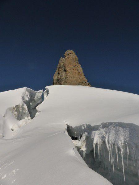 Alpinisme : traversée Rochefort Jorasses - les arêtes de Rochefort
