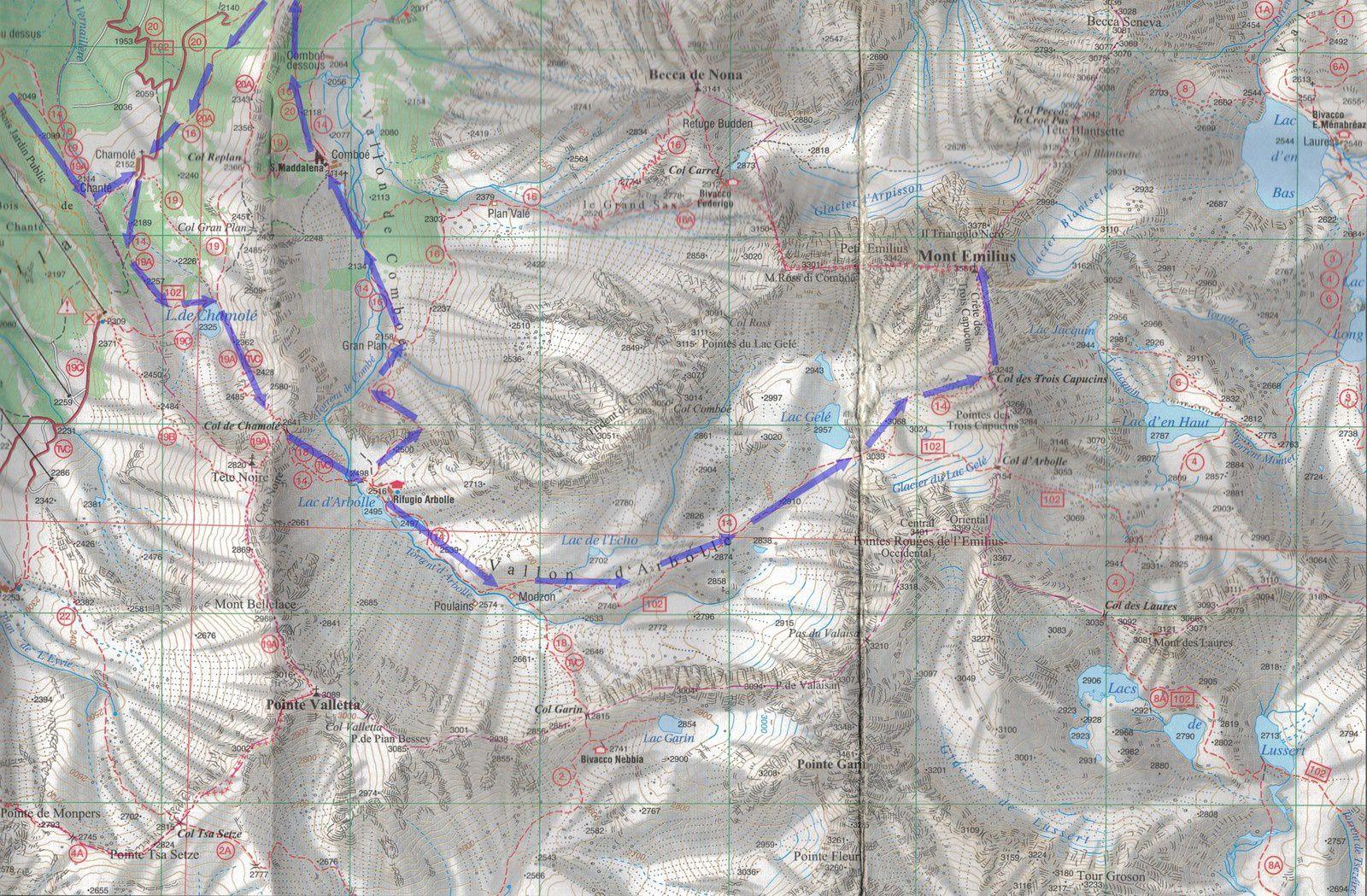 Trail Rando au Mont Emilius - 3561 m