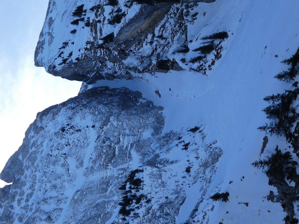 Ski de rando : Pointe de Blonnière - 2362 m avec Louis