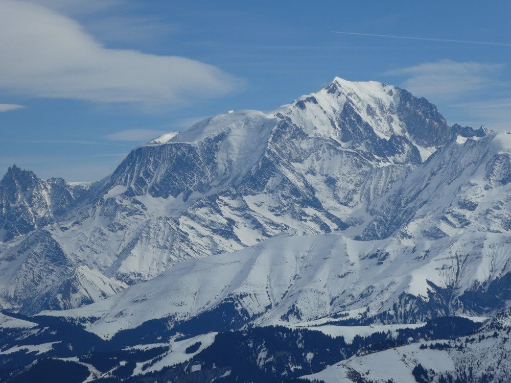Station de l'etale Merdassier - Mont Charvin - Mont blanc