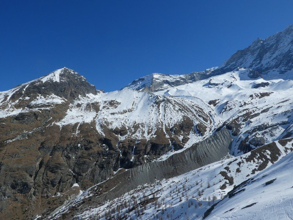 Ski de Randonnée - Blanc de Moming 3657 m