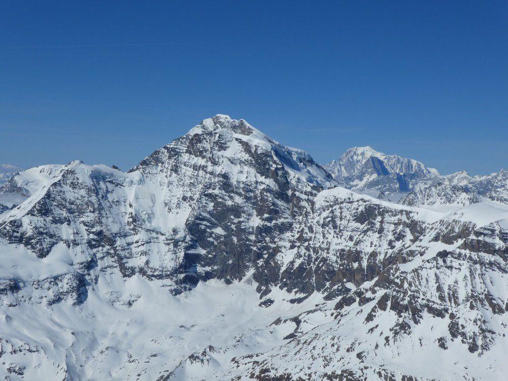 Ski de rando : La Ruinette 3875 m et le Pigne d'Arolla 3790 m