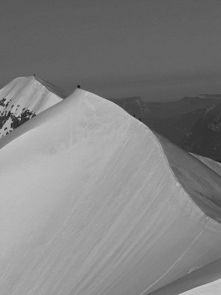 Portfolio - Traversée des Dômes de Miage - Alpinisme depuis les Conscrits