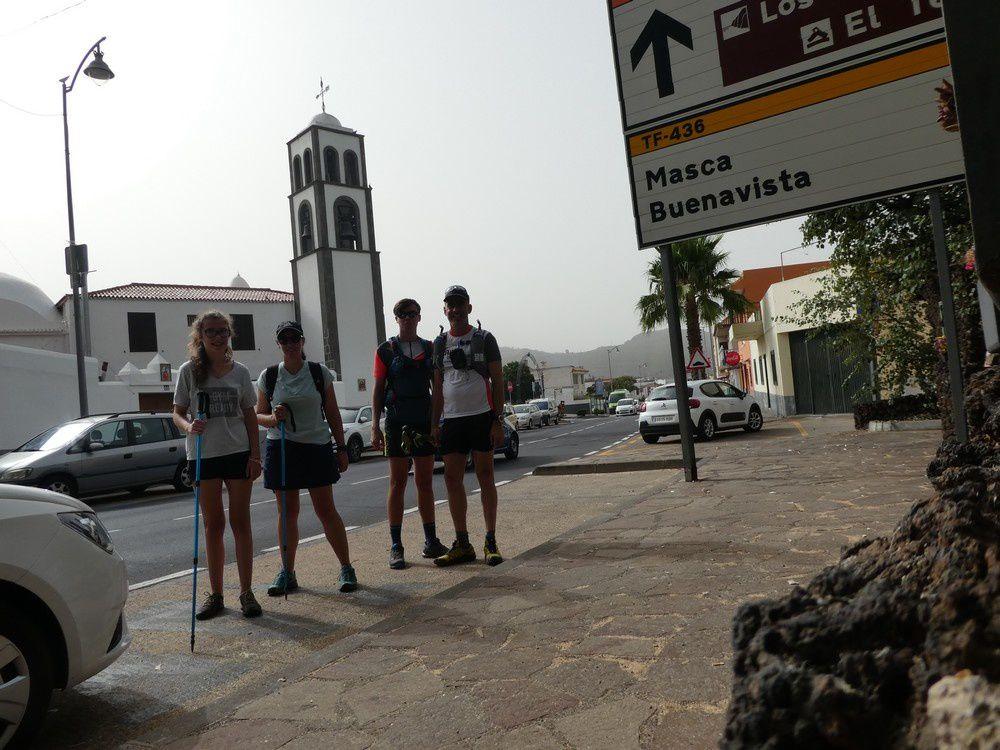 Randonné Tenerife - de Santiago del Teide à la Punta di Teno Par la Degollata di Messa