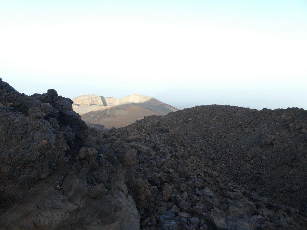 Rando trail : Tenerife -  Traversée du Pico del Teide 3718 m de la Montana Blanca au Pico Viejo