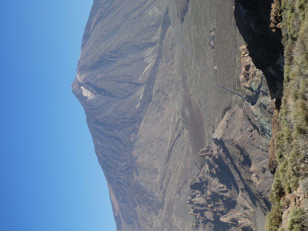 Rando trail : Vilaflor le rempart : Montana de la Guajara 2718 m - Sombrero de la Chasna