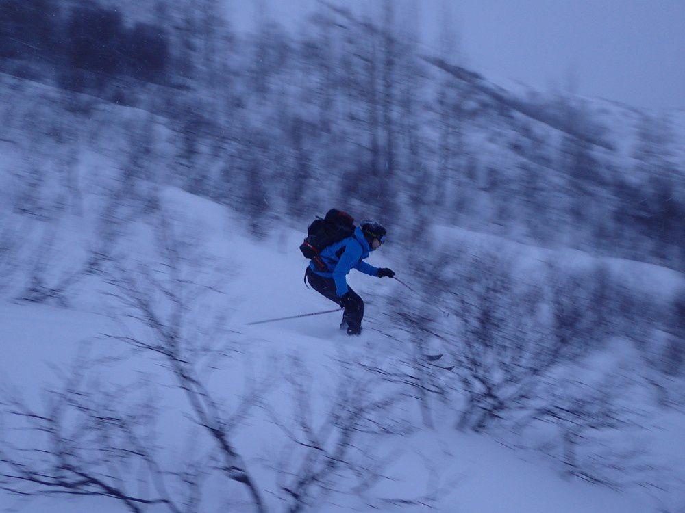Ski de rando au Lofoten - Apoutsiak au pays des Vikings J4 - la bouse du coin