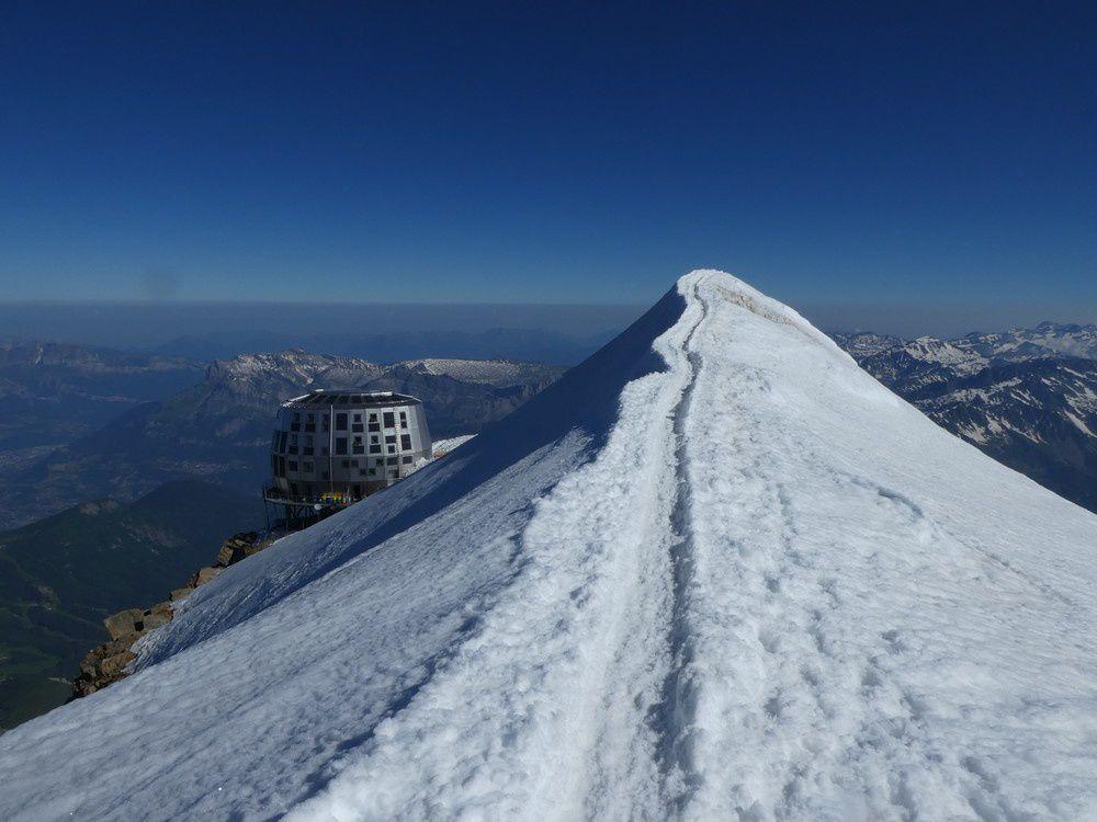Mont blanc - 4810 m à 16 ans !