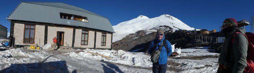 Acclimatation Elbrus - jour 2 - pashtukov rocks 4700 m - паштуков роцкс