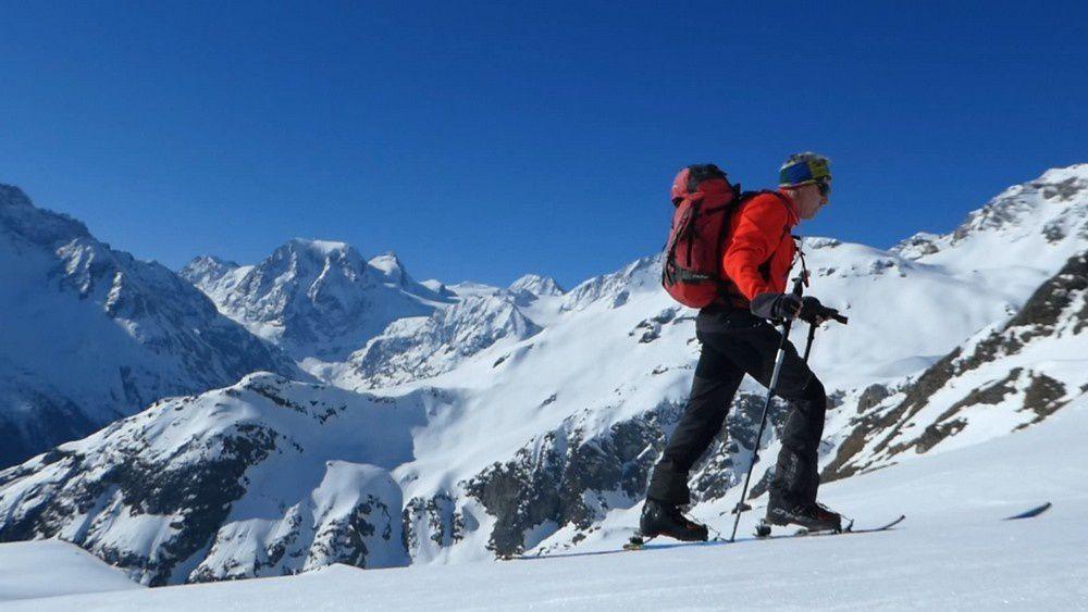 Ski de rando : Pointe de Vouasson - 3490 m