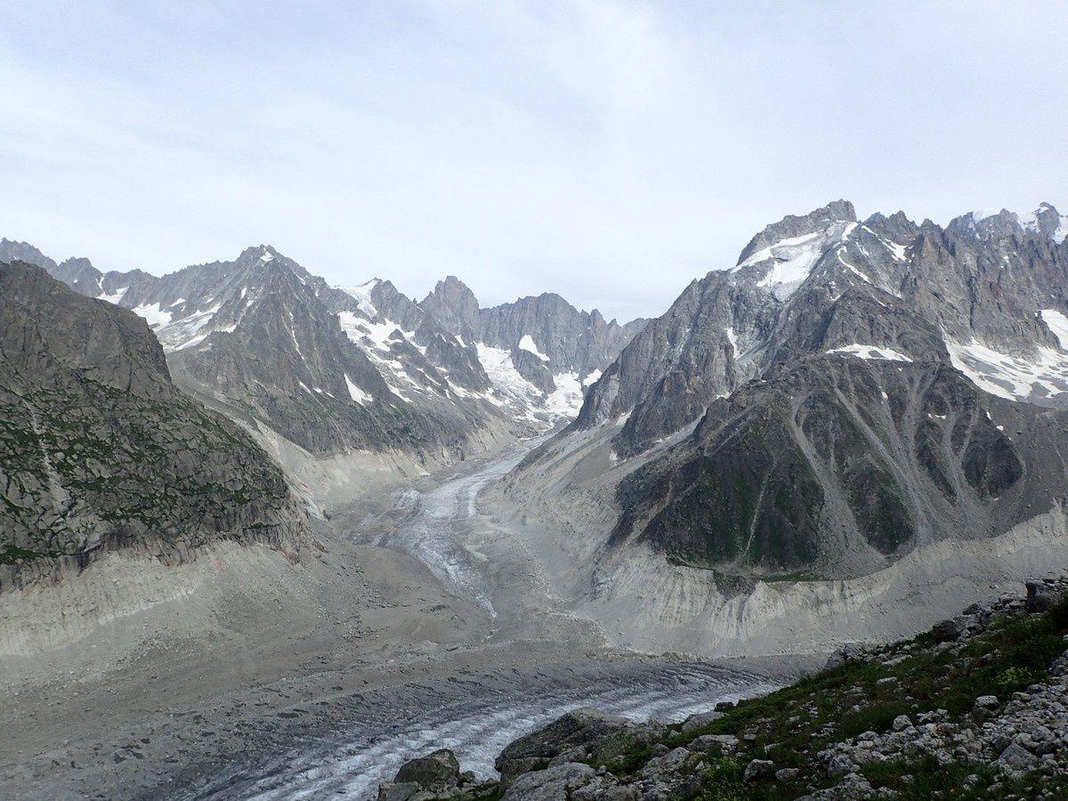 Alpinisme : Aiguille du Grépon  4482 m - Grépon Mer de Glace