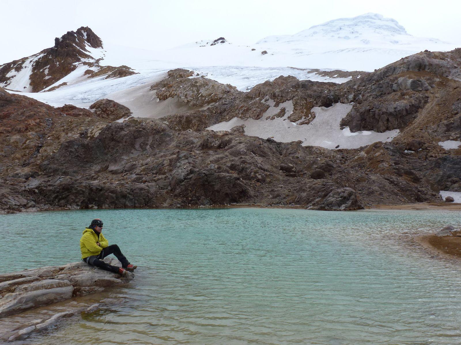 Alpinisme : Epaule du Volcan Cayambe - 5400 m