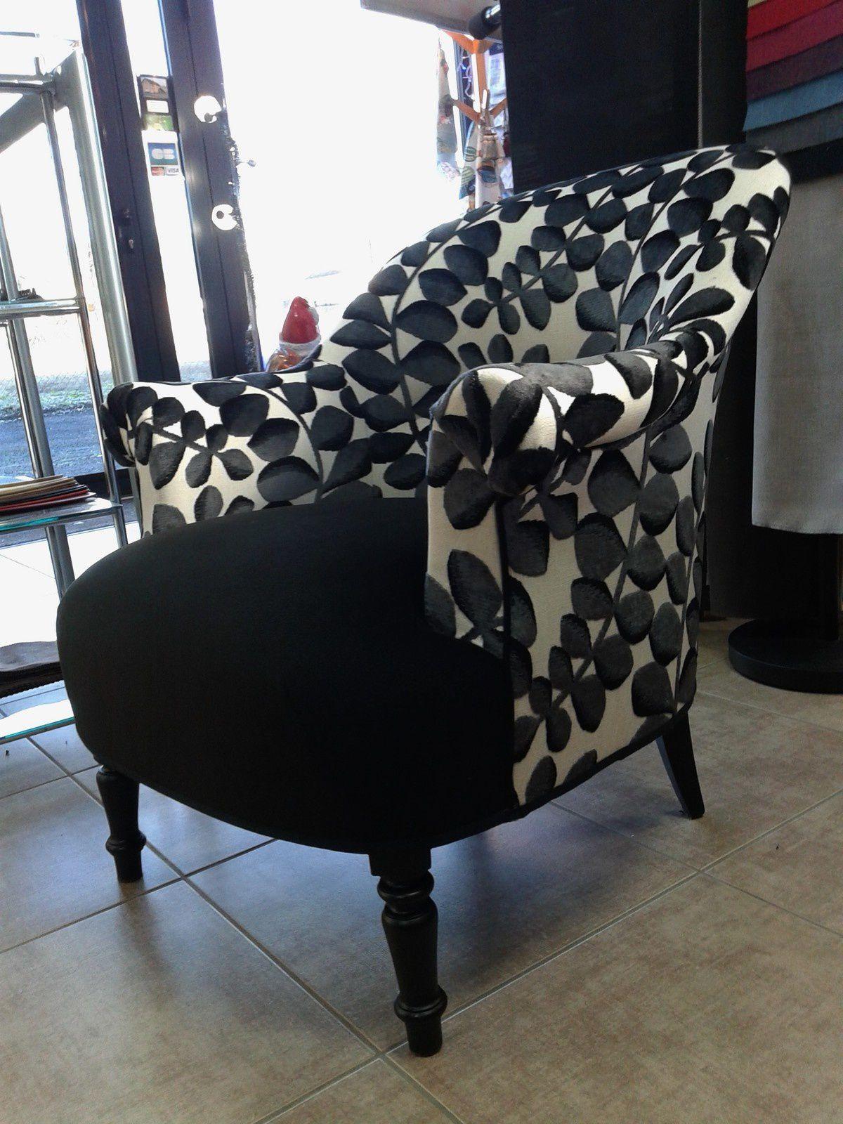 réfection de fauteuil ARABESQUE THIERS tapissier décorateur