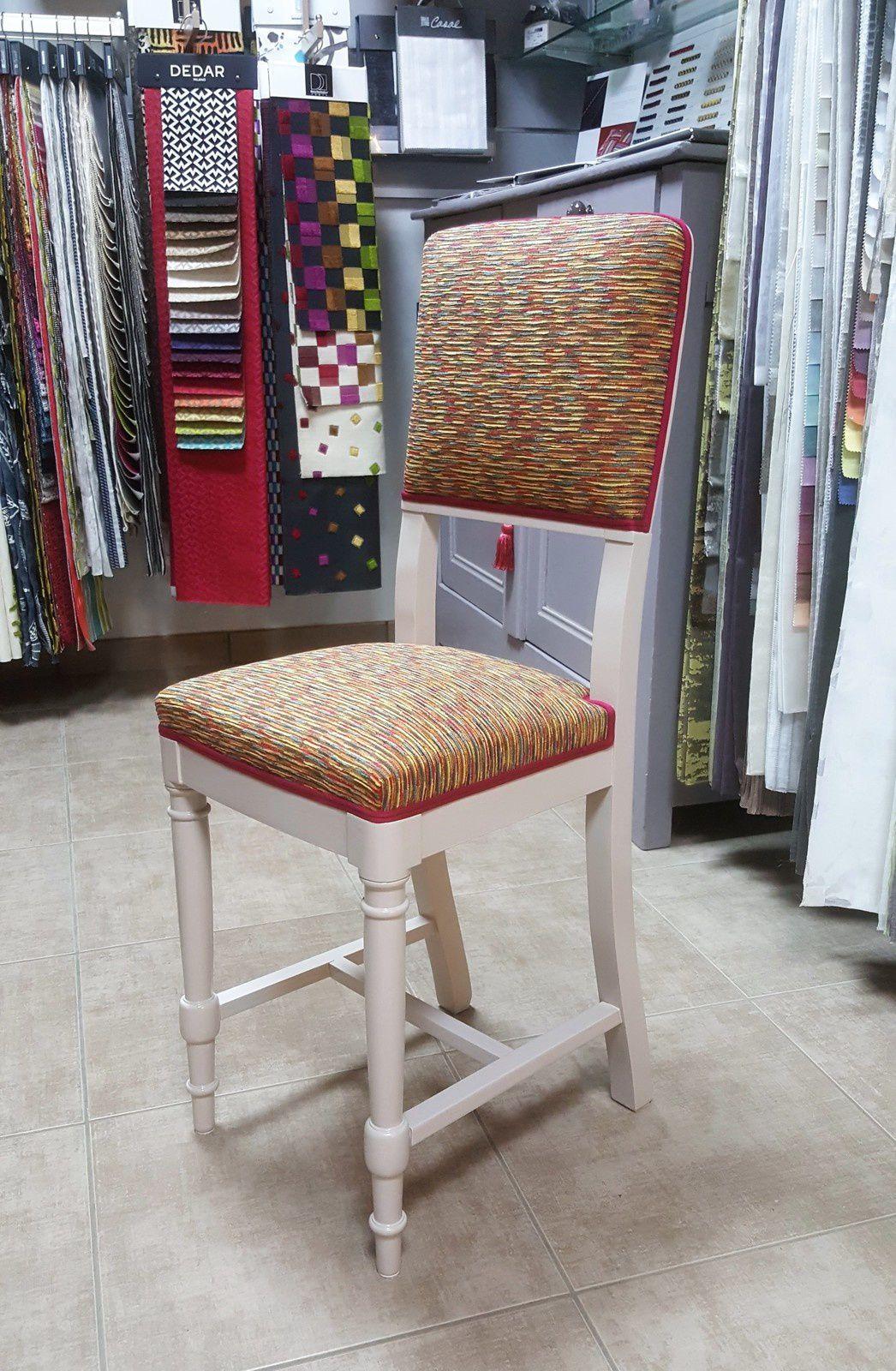 réfection de fauteuil cabriolet bridge voltaire ARABESQUE THIERS tapissier décorateur