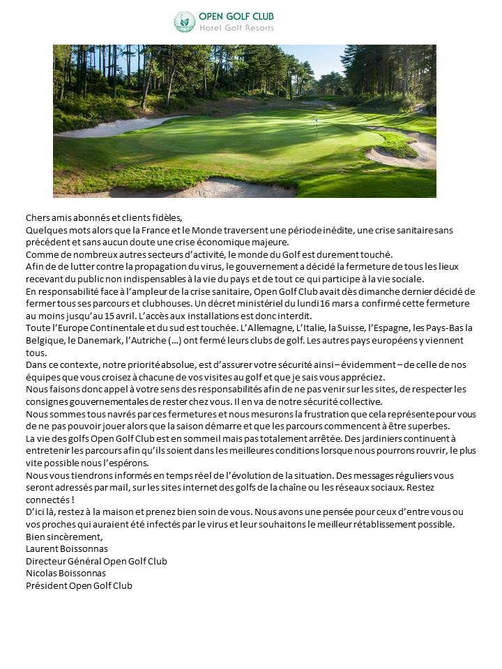 Le Mot d'Open Golf Club