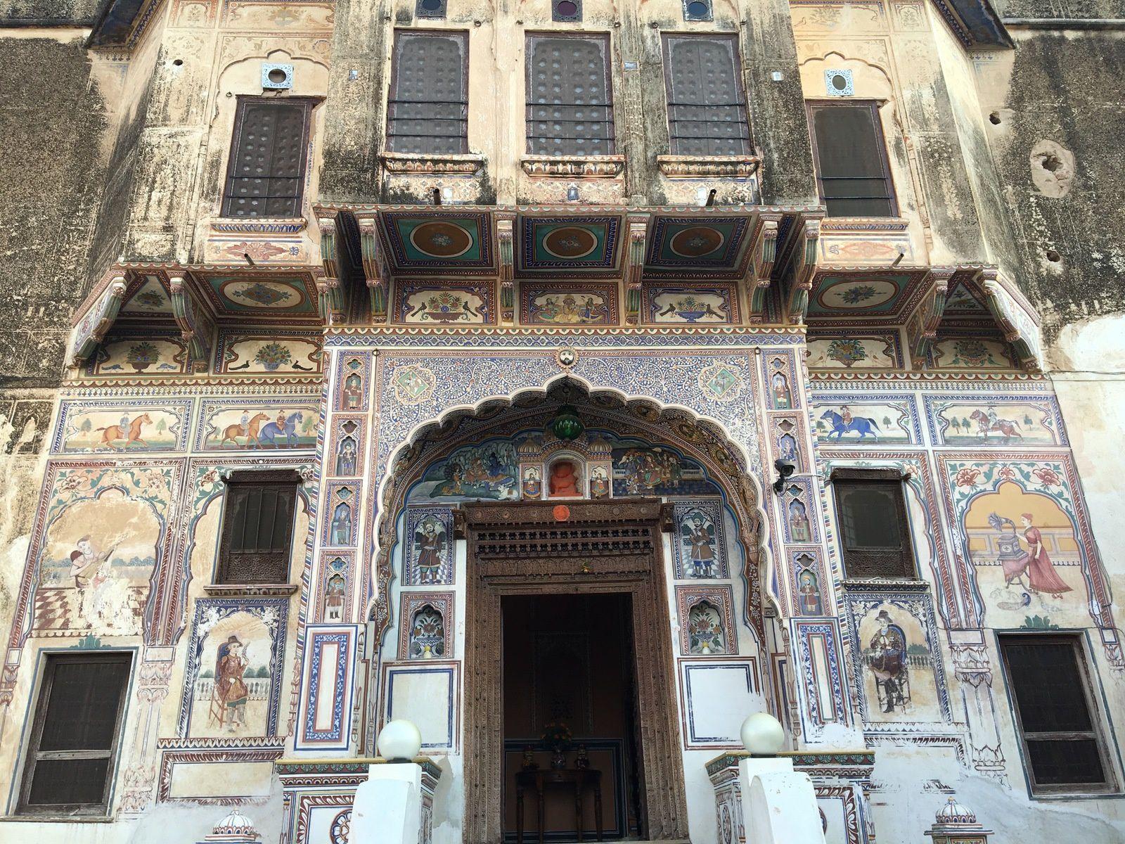 Entrée au Rajasthan