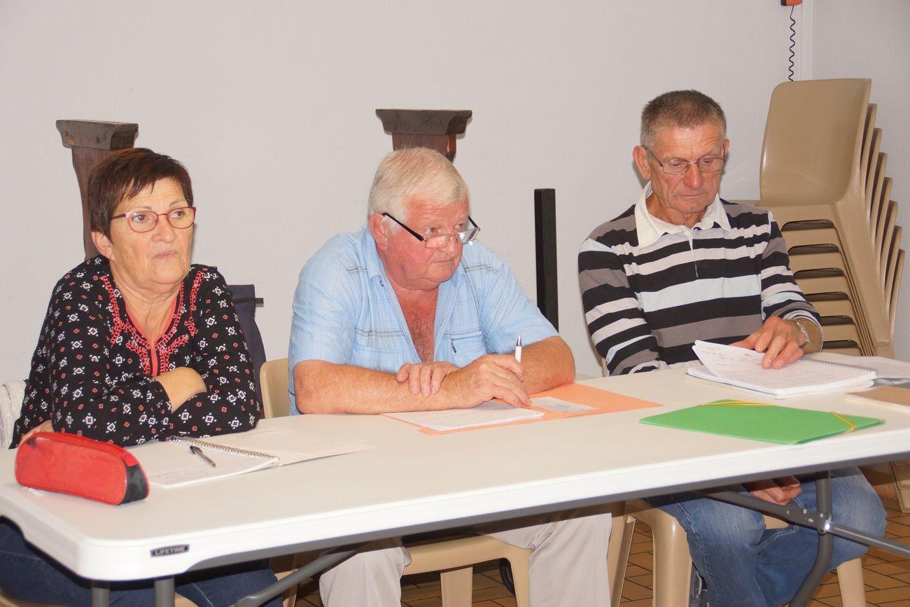 Emilienne, René et Roger.