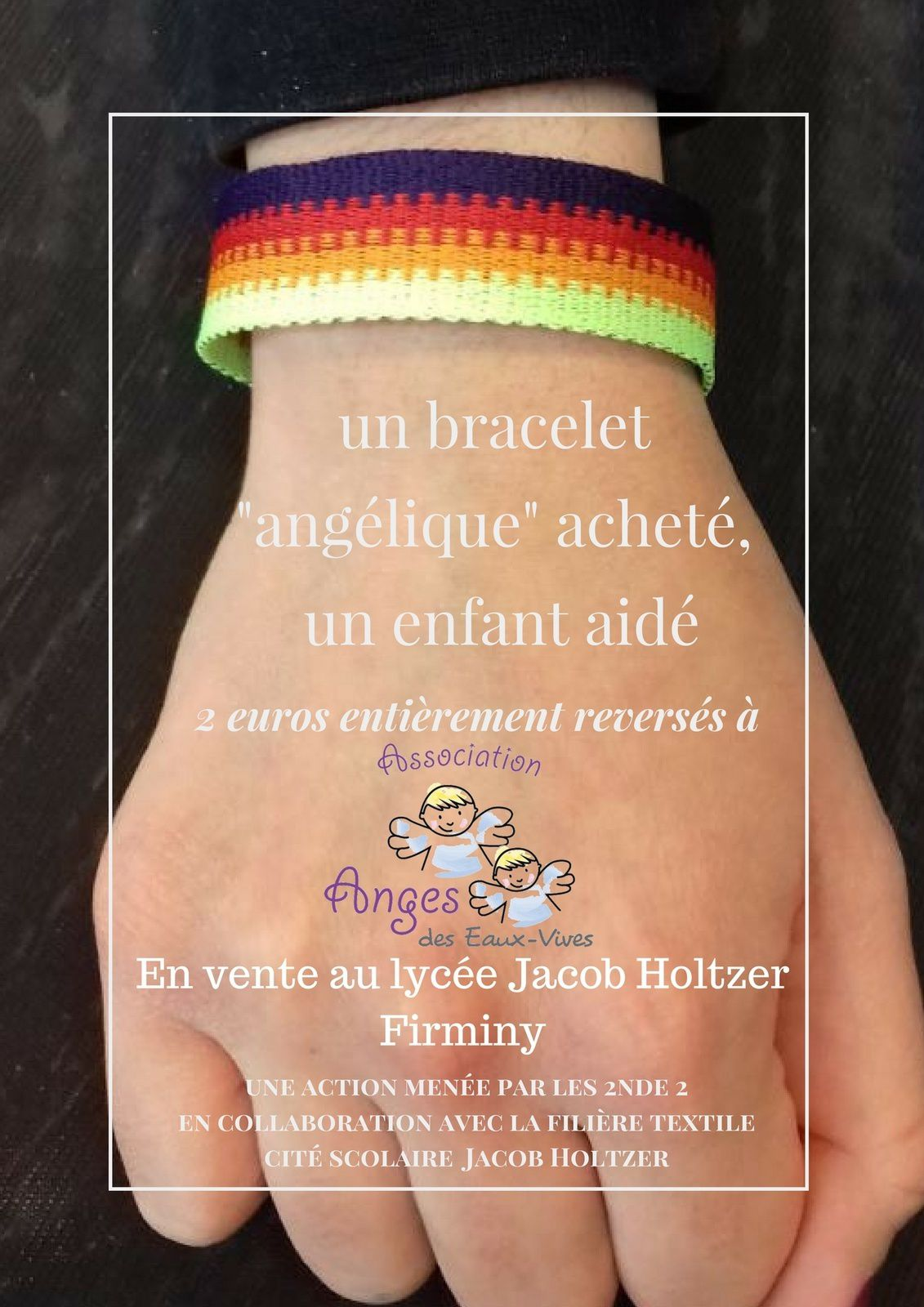UN BRACELET SOLIDAIRE MADE IN JACOB