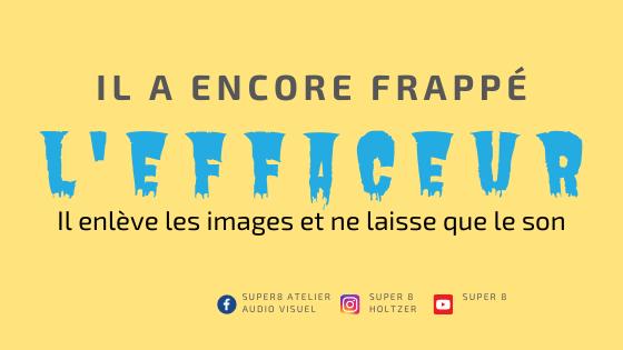 L'EFFACEUR DERRIÈRE LES BARREAUX !