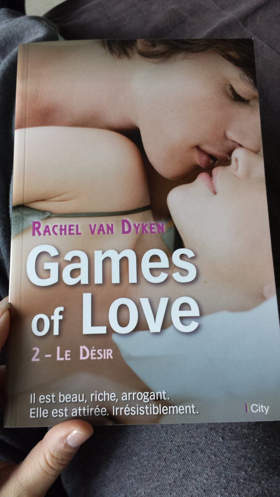 Games of love, tome 2 : le désir