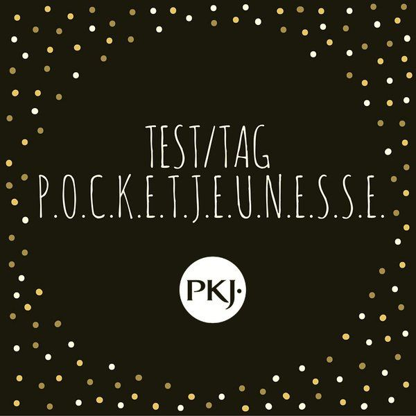 Test/Tag POCKET JEUNESSE
