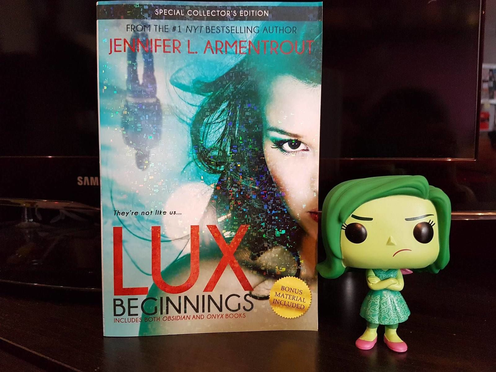 Lux, tome 1 : Obsidian & tome 2 : Onyx - Jennifer L. Armentrout