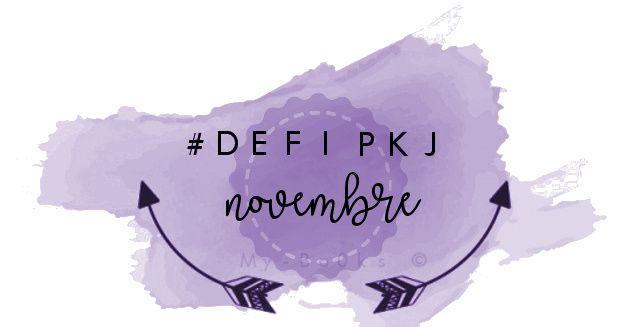 Défi de novembre PKJ
