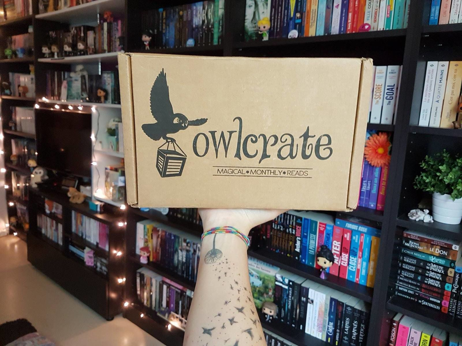 Unboxing Owlcrate !