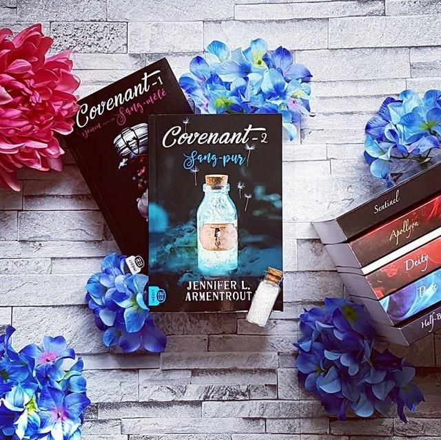 Chronique de Covenant, tome 2 : Sang-pure de Jennifer L. Armentrout chez J'ai Lu