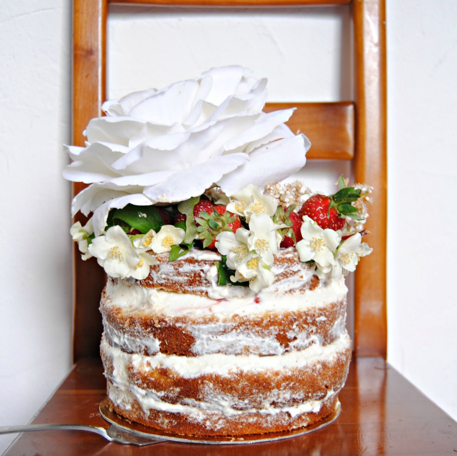 Naked cake Stawberry
