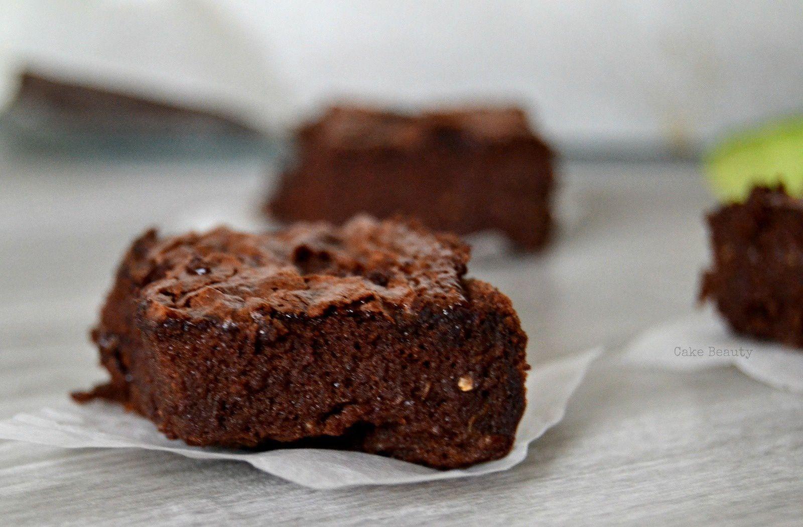 Fondant Courgette Chocolat