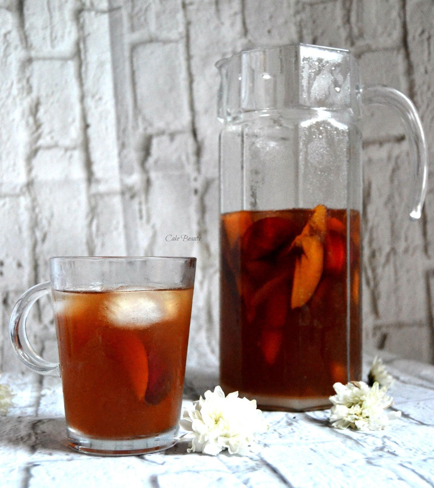 Ice Tea Pêche Homade