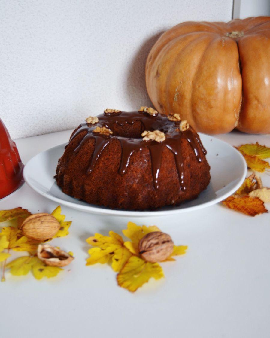 Bundt Cake Chocolat Citrouille
