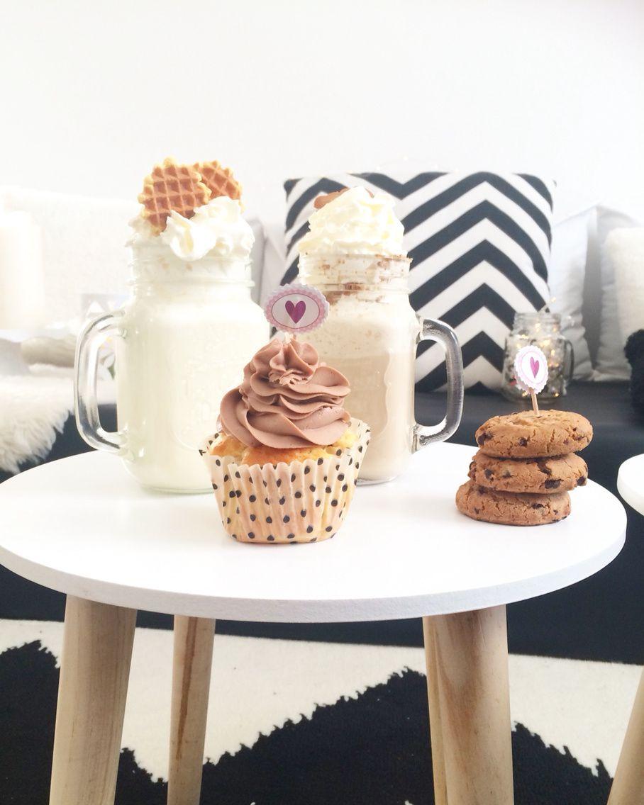Chocolat Chaud Blanc & Cupcake Nuttela, Perfect cocooning