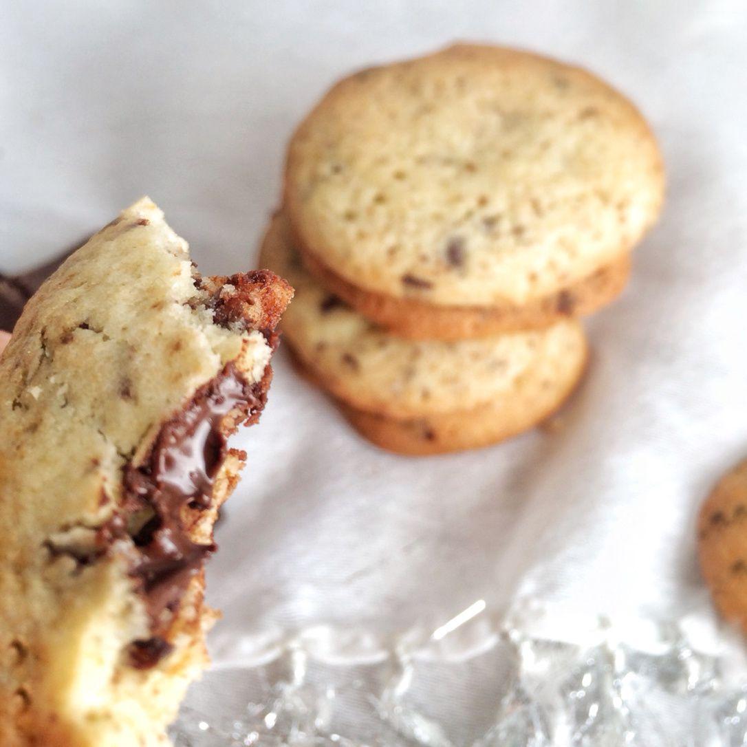 Cookies fourrés au Nuttela.