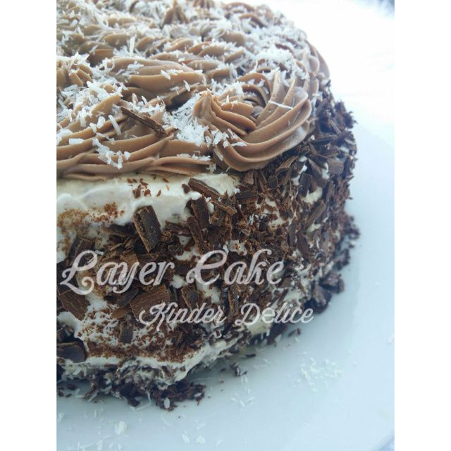 Layer Cake Kinder Délice