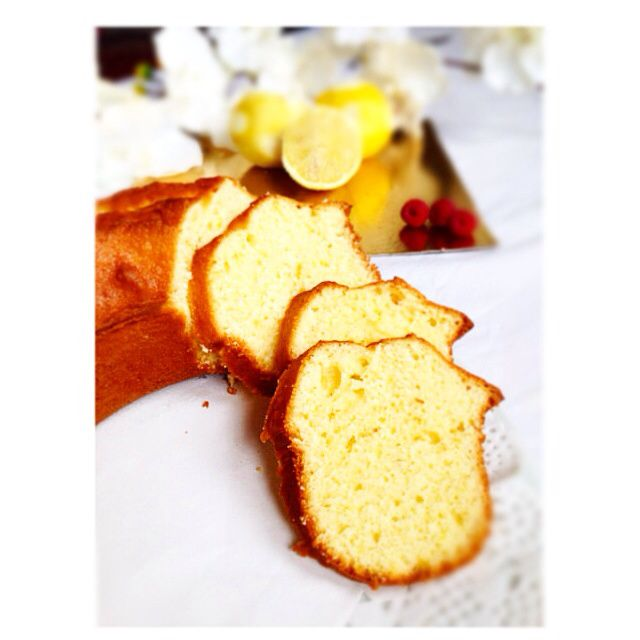 Cake au citron , by Pierre Herme The best ..