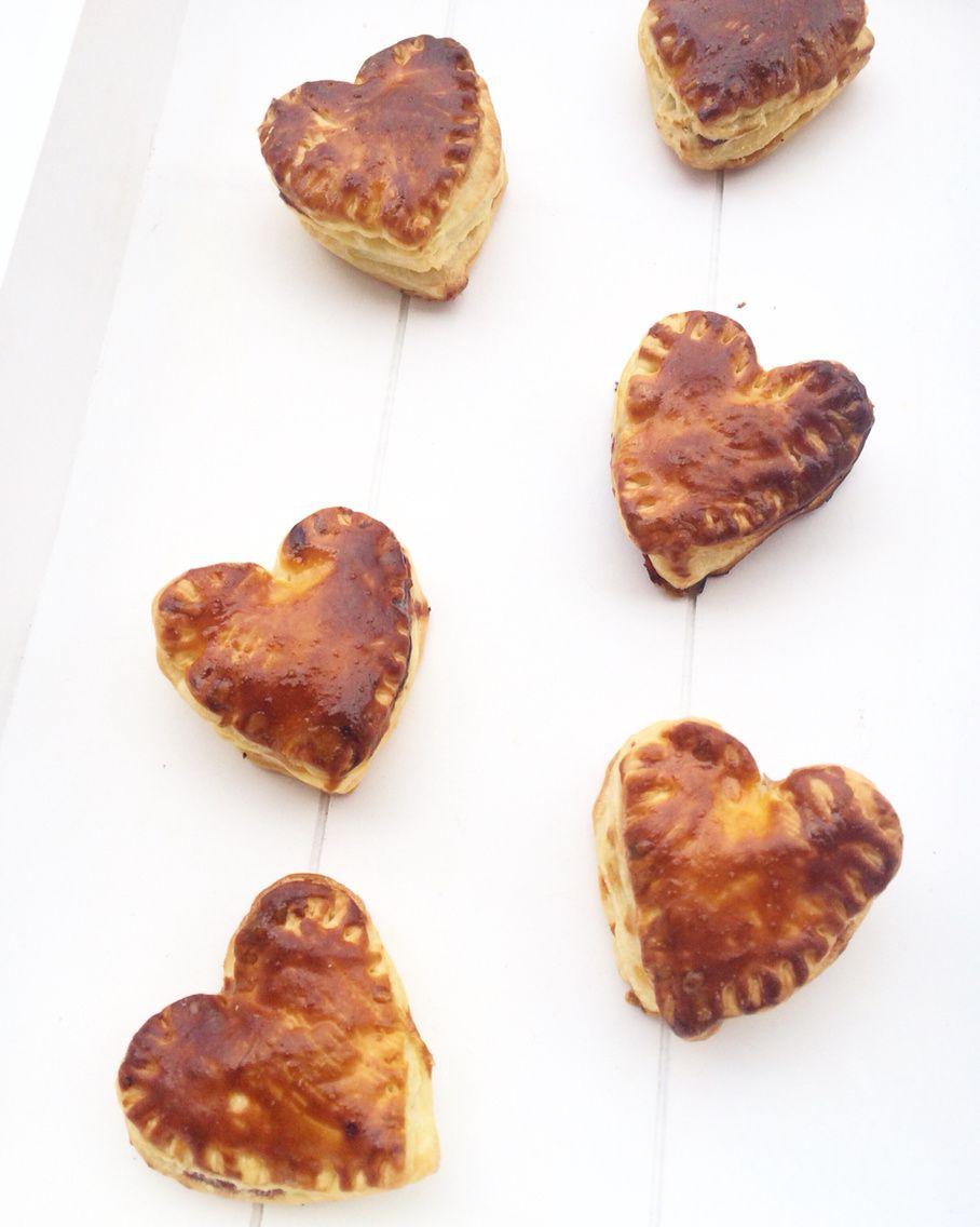 Diy : Coeur feuilletée à la framboise