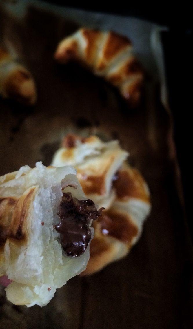 Diy: Croissant Nuttela/Coco