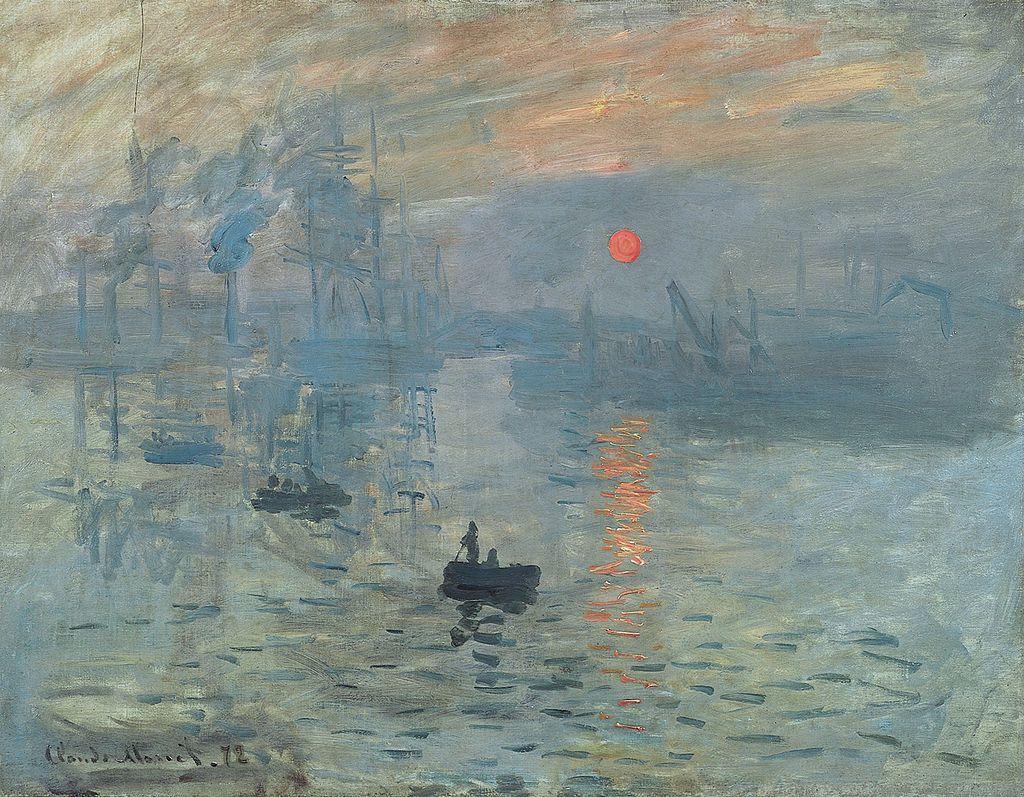 Impression au soleil levant