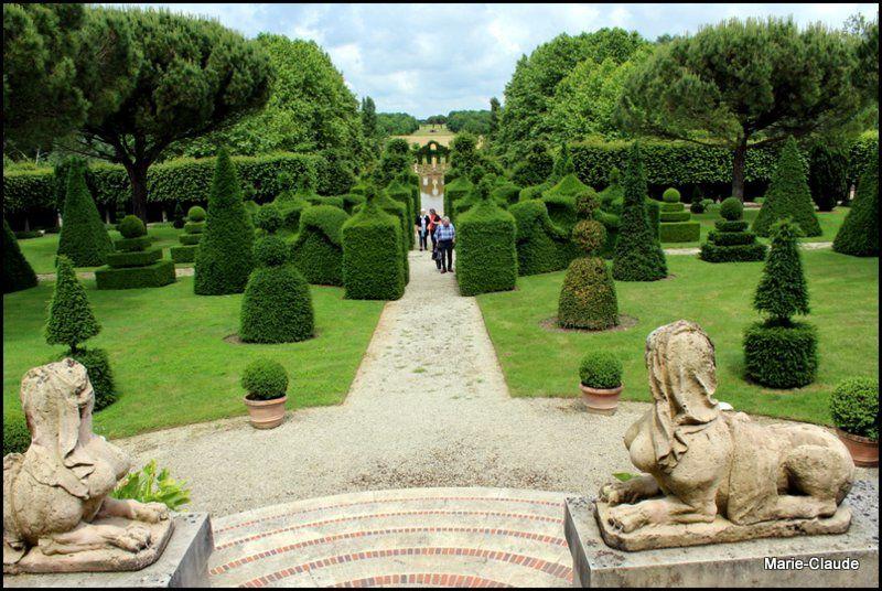 Le jardin de Bâtiment de William Christie,