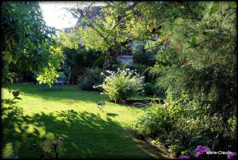 Rêverie au jardin,
